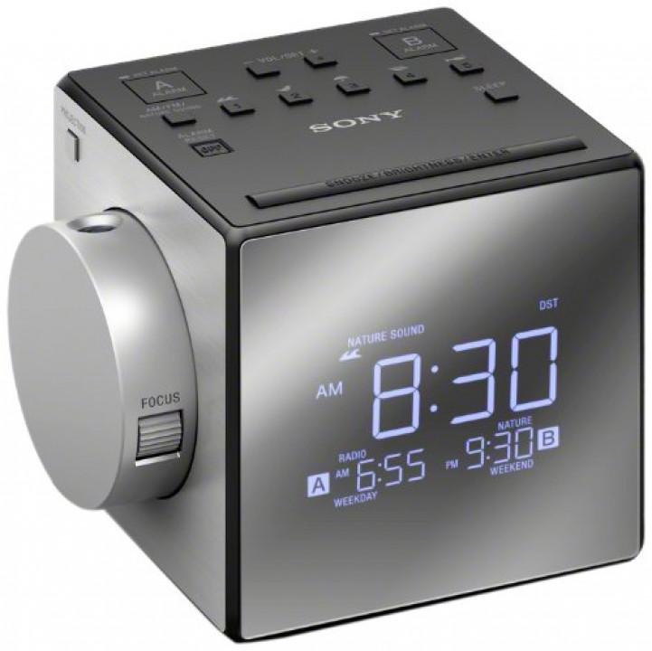 1cb766a8458 Sony projektoriga kellraadio, must/hõbedane - ICF-C1PJ - Miterassa/Sony  Center